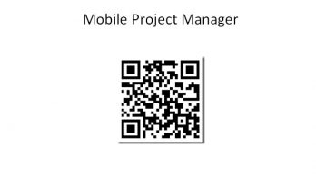 Application Mobile Project Manager (MPM) pour Android 6