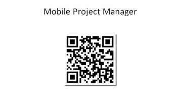 Application Mobile Project Manager (MPM) pour Android 20