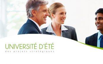 Participez à l'Université d'été des Projets stratégiques 12
