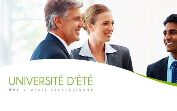 Participez à l'Université d'été des Projets stratégiques 2