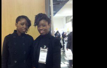 Interview de deux jeunes porteuses de projet au Salon des Entrepreneurs à Paris 6