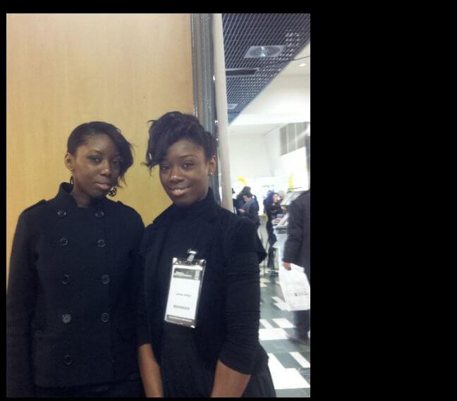 Interview de deux jeunes porteuses de projet au Salon des Entrepreneurs à Paris 4