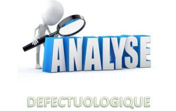 Connaissez-vous l'analyse défectuologique? 18