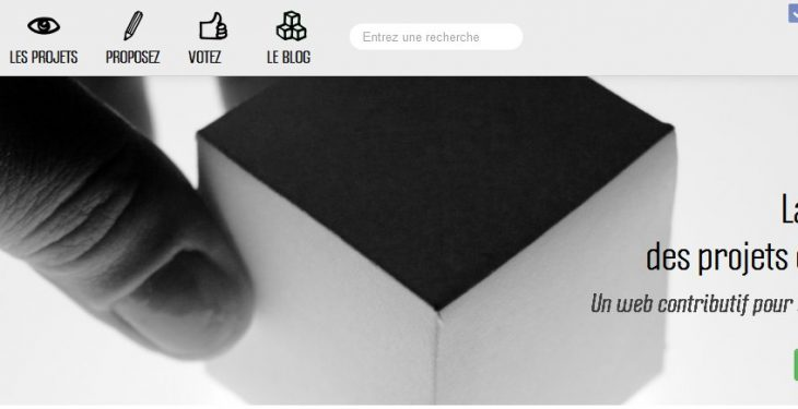 Un site qui référence des projets participatifs de qualité 78