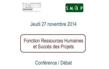 Jeudi 27 novembre 2014 Conférence Fonction Ressources Humaines et Succès des Projets 10