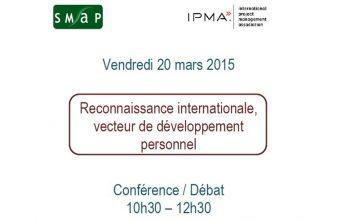 Conférence / Débat IPMA vendredi 20 mars 2015 : reconnaissance internationale, vecteur de développement personnel 6