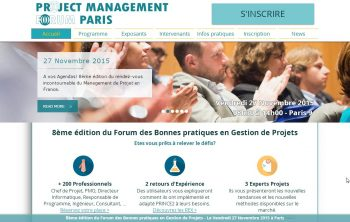 7 raisons de participer à la 8ème édition du « Project Management Forum » à Paris le 27 novembre 2015 24