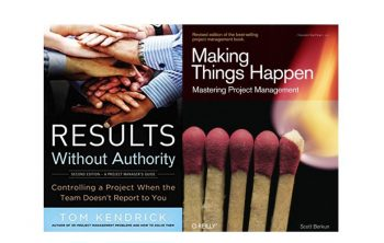 Deux ouvrages importants en gestion de projet : Results without Authority et Making Things Happen 18