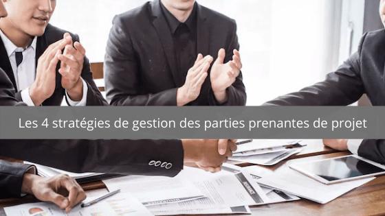 gestion des parties prenantes de projet