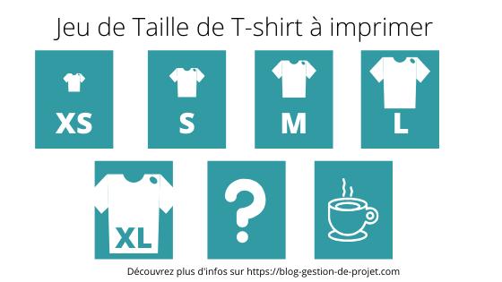comment estimer une user story Taille de t-shirt