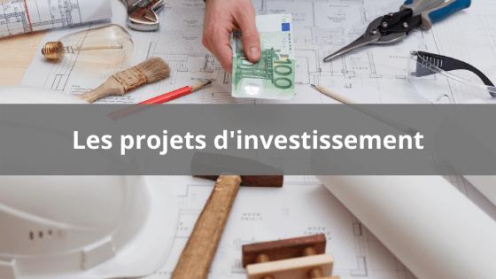 Projet d'investissement