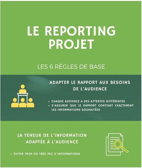 6 règles du reporting projet - du besoin au contrôle